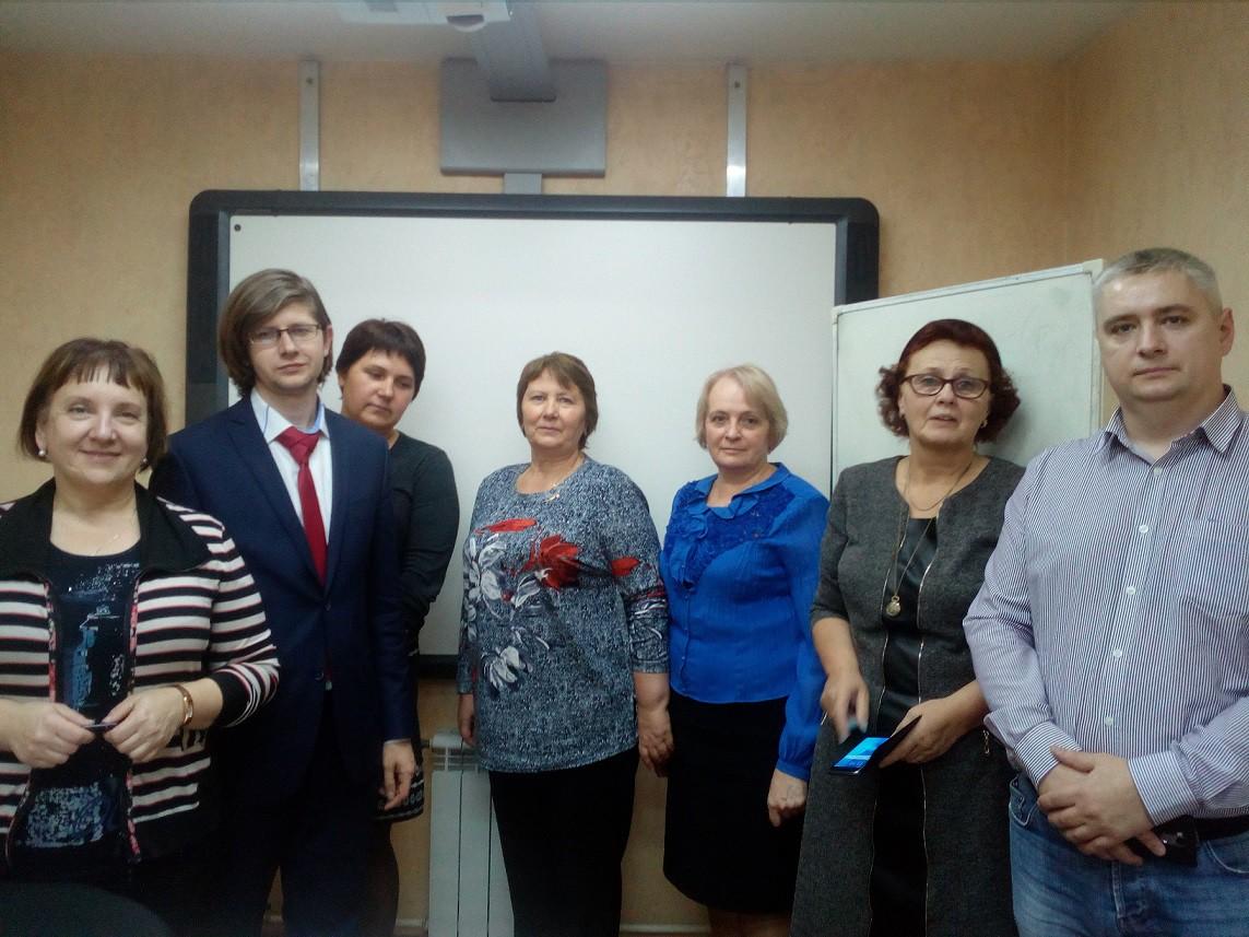 Коллектив слушателей курсов повышения квалификации