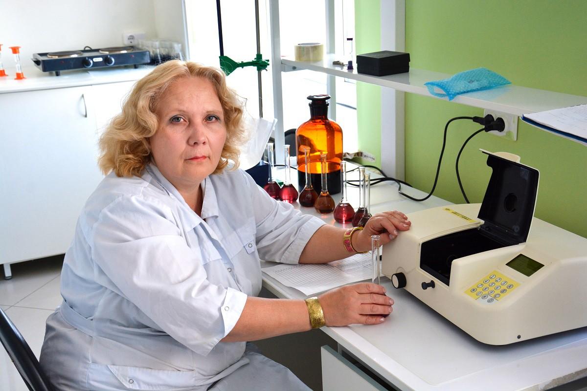Лабораторные исследования продукции
