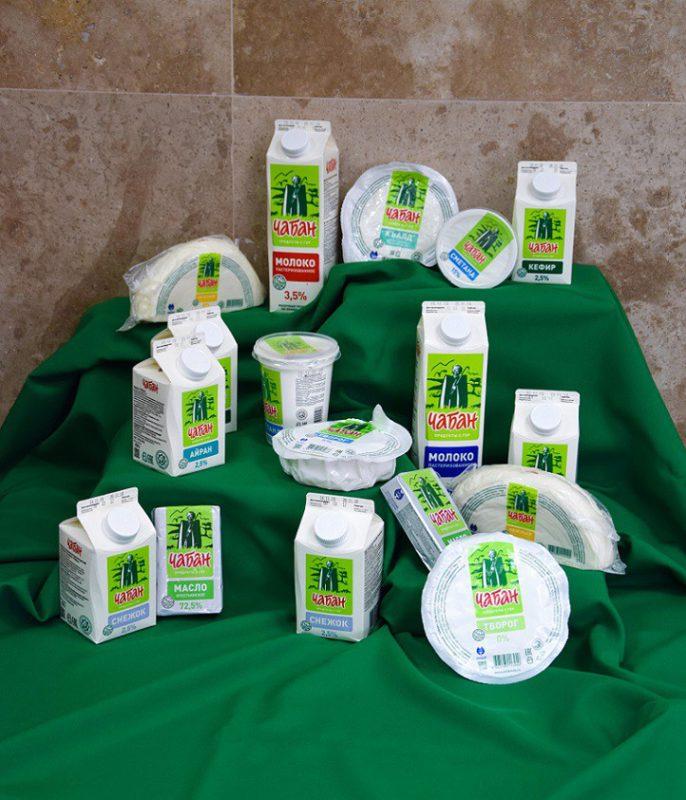 Ассортимент молочной продукции (халяль)