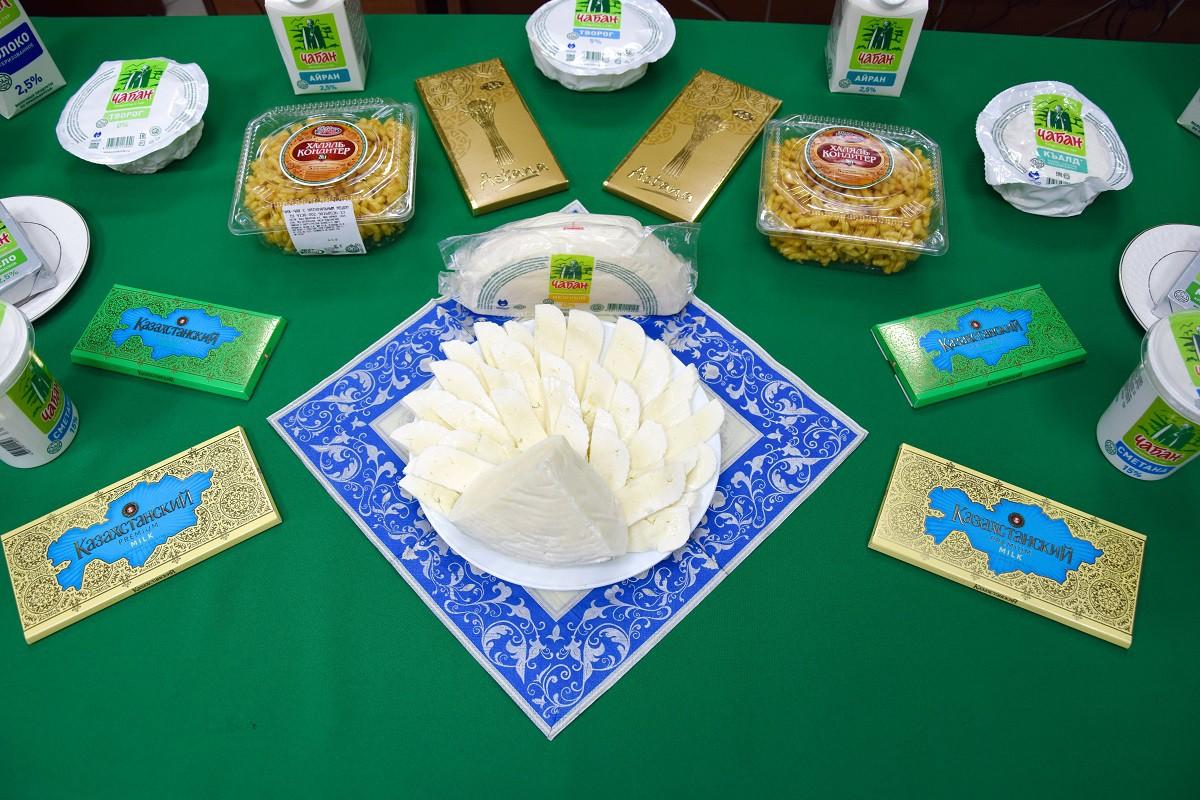 Молочные, кондитерские и мучные кулинарные изделия (халяль)