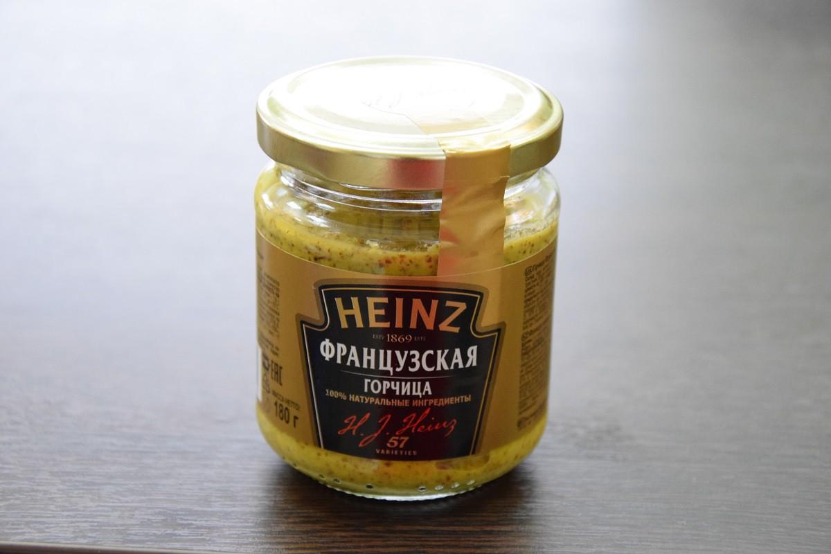 «Хайнц» горчица французская