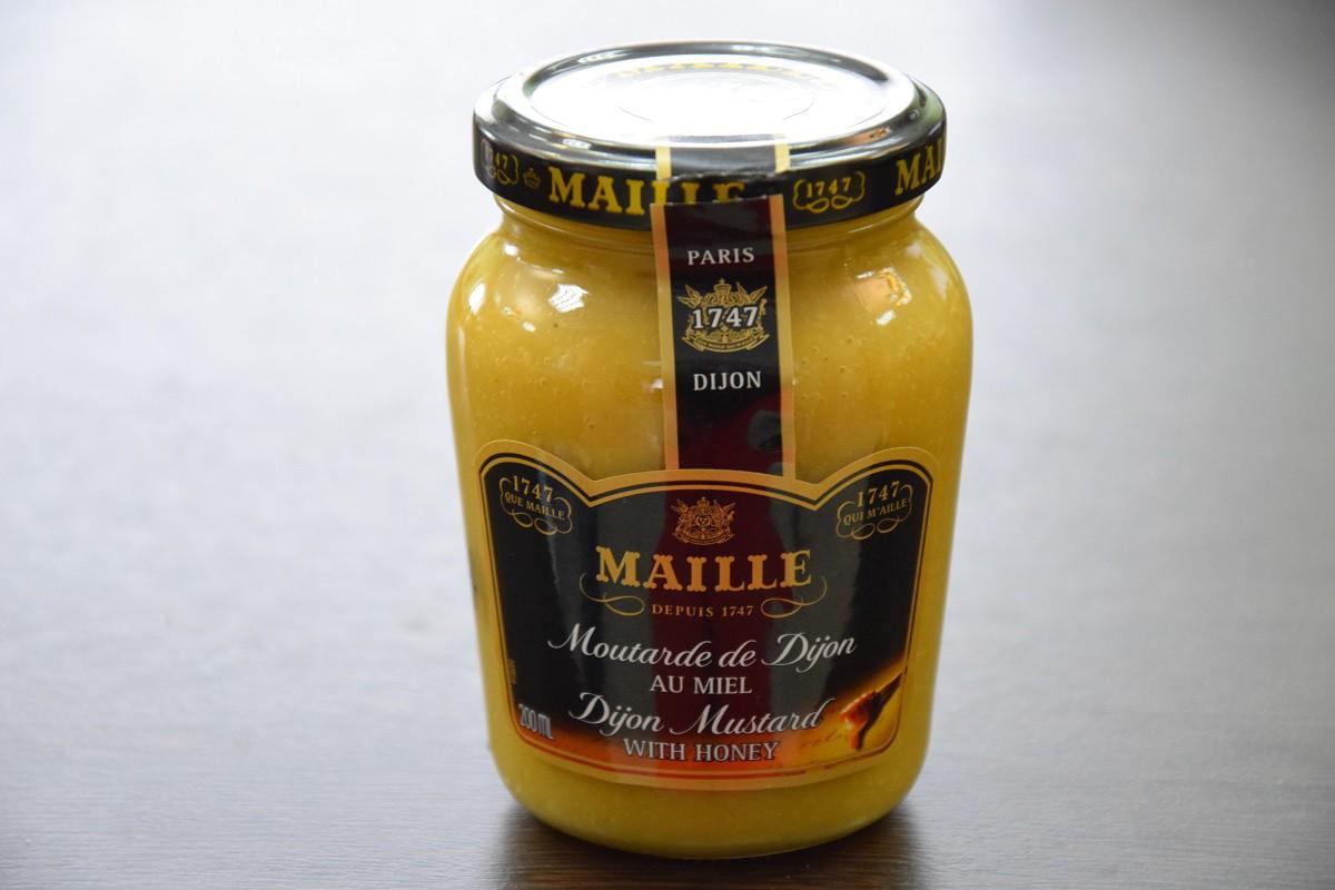 «MAILLE» горчица дижонская с медом