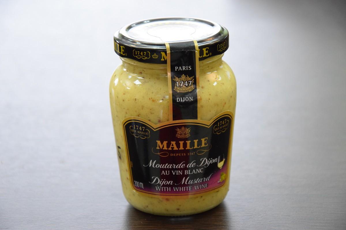 «MAILLE» горчица дижонская с белым вином