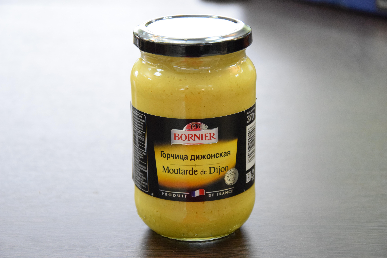 «BORNIER» горчица дижонская