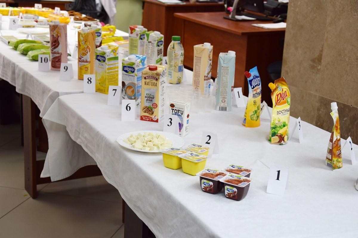 Ассортимент растительного молока