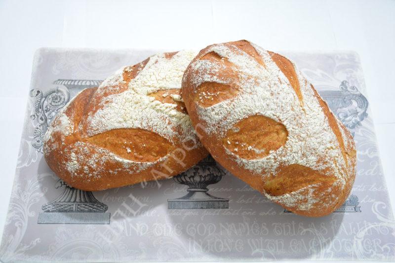 """Хлеб пшенично-ржаной """"Яблочный"""" (подовый)"""